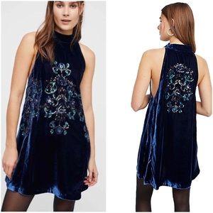 NWT Free People Jill's Sequin Swing Dress Size XS